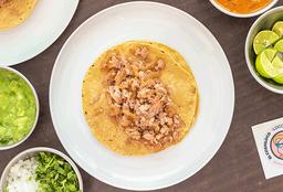 Taco Maciza con Cuerito