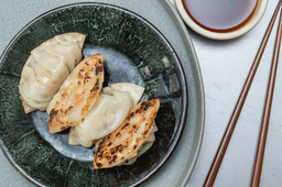 Dumplings de Camarón