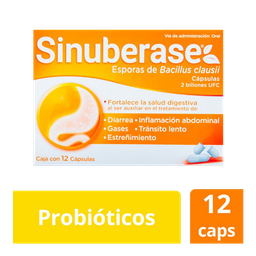Sinuberase 12Caps 2B