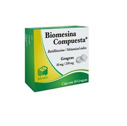 Biomep Butilhioscina 10 mg Metamizol SóDico 250 mg