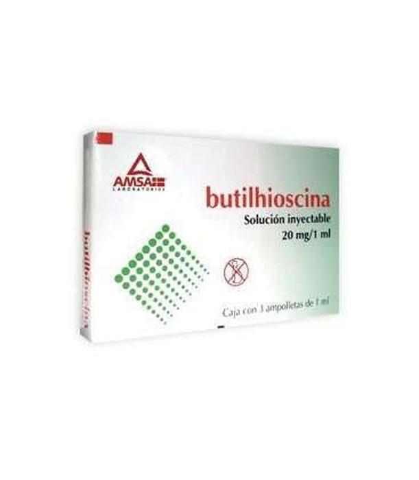 Comprar Antibióticos de México Butilbromuro De Hioscina 20 mg