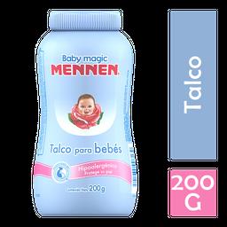 Talco Mennen Baby Magic Hipoalergénico Azul 200 g