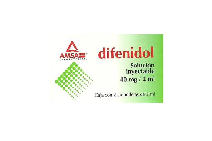 Comprar Difenidol Solución Inyectable 2 u (40 Mg/2 Ml)