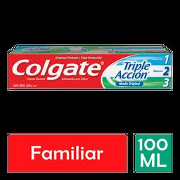 Pasta Dental Colgate Triple Acción 100 mL