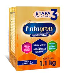 2x1 Fórmula Infantil Enfagrow Etapa 3 Vainilla Ecopack