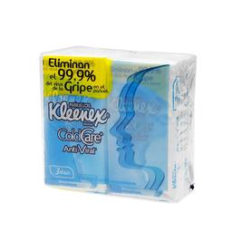Pañuelos Desechables Kleenex Anti Viral