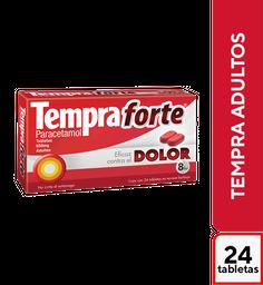 Tempra Forte 24 Tabletas (650 mg)