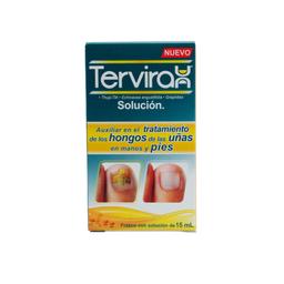 Tervirax Solución 15 mL (0.25 mL/0.0625mL/0.0625 mL)