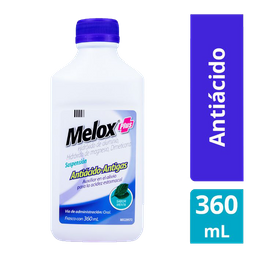 Melox Plus Susp Menta 360 mL