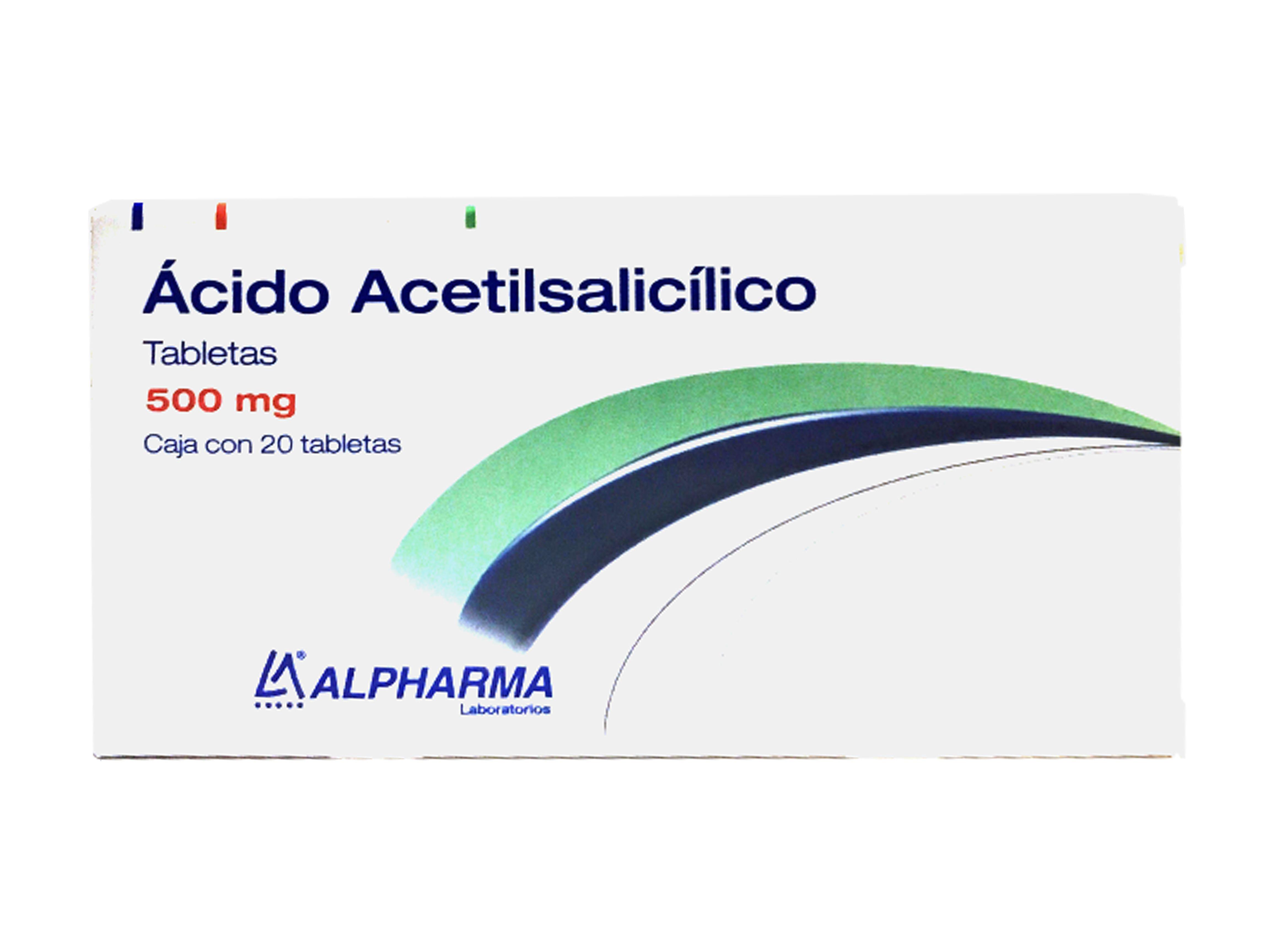 Comprar Ácido Acetilsalicilico 500 Mg