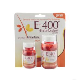 Gelcaps Vitamina E Duo 120 Cápsulas Paquete Vitamina e 400 UI