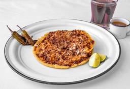 Gordita Combinada de Migaja y Oaxaca
