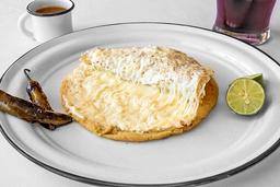 Gordita Combinada de Panela y Oaxaca