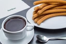 10 Churros con 1 Chocolate San Ginés