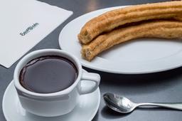 3 Porras con 1 Chocolate San Ginés