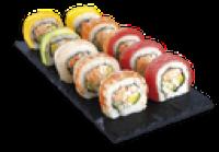 Rainbow Roll Maki