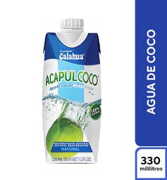 Agua de Coco Acapulcoco 330 ml