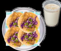Orden de Tacos + Agua GRATIS