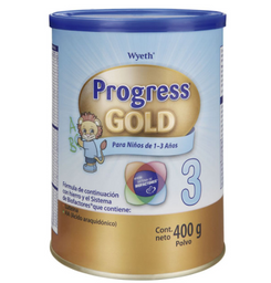 Fórmula Para Lactante Progress Gold 3 400 g