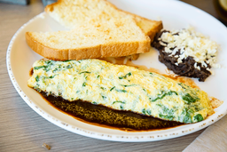 Omelette Espinacas