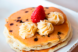 Hot Cakes con Chispas de Chocolate