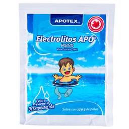Electrolitos Orales Apo Natural 27.9 g