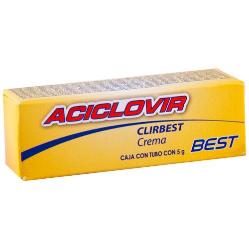 Comprar Aciclovir 5/100Gr Crema 5Gr