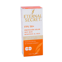Bloqueador 50+ 60Gr Eternal Secret