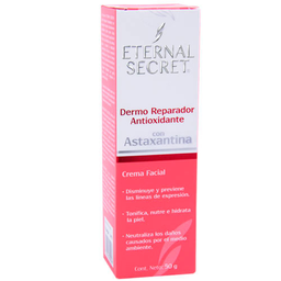 Crema Fac C/Astaxantina 50Gr Eternal Sec