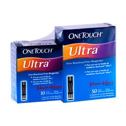 Tiras React One Touch 50+10Pzas