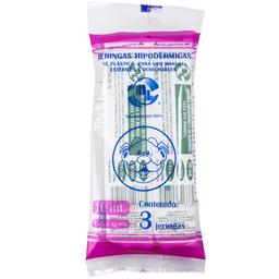 Jeringa Desechable Farmacias Similares 10 Ml 3 U