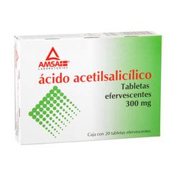 Ácido Acetilsalicilico 20Tab Efer