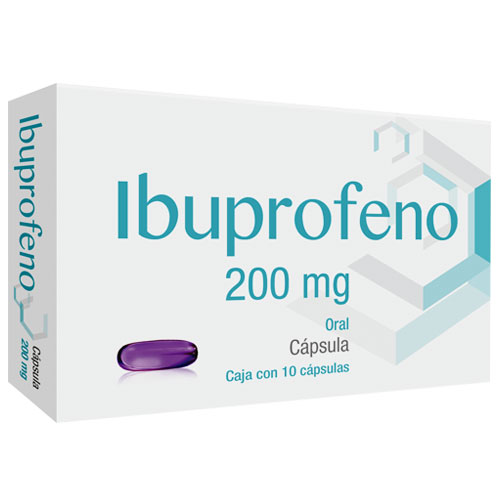 Comprar Ibuprofeno 200Mg 10Cap Gel