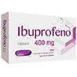 Ibuprofeno 400Mg 10Cap