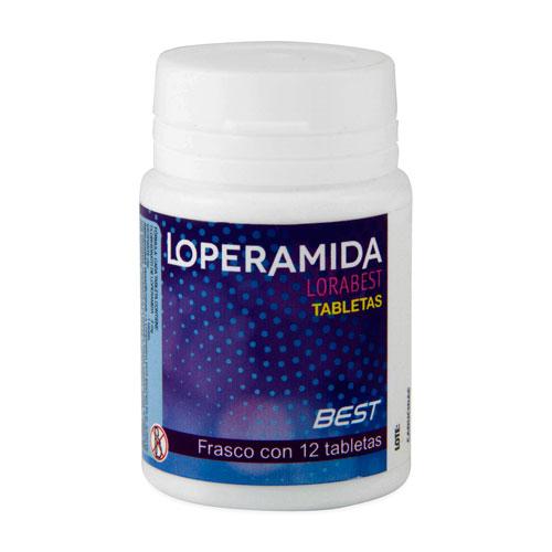 Comprar Lorabest Loperamida 2Mg 12Tab