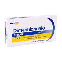 Dimenhidrinato 50Mg 12Cap