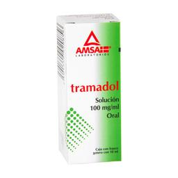 Tramadol Solución Oral Gotas 10 Ml (100 Mg)