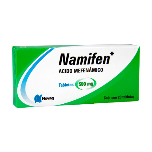 Comprar Namifen (500 Mg)