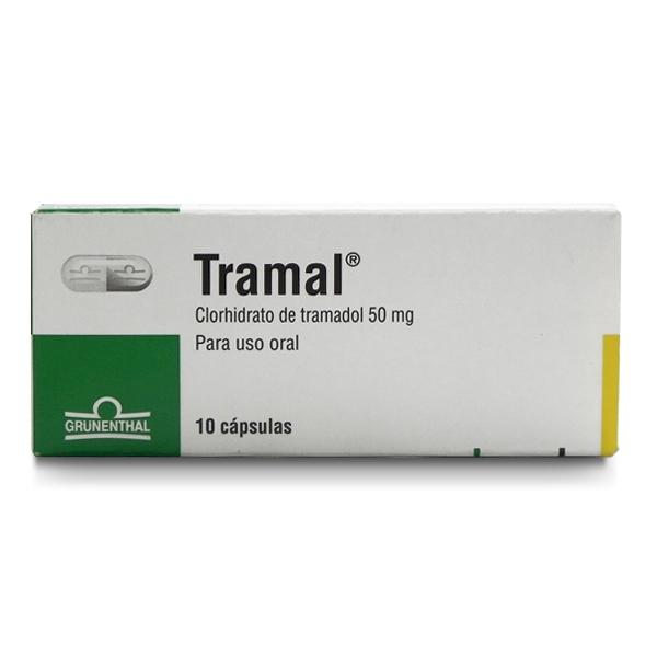 Comprar Tramal 10 Cápsulas (50 Mg)