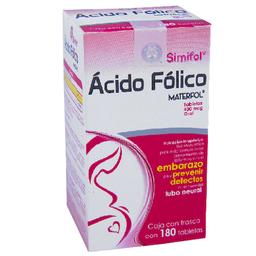 Simifol Materfol 180 Tabletas (400 Mcg)