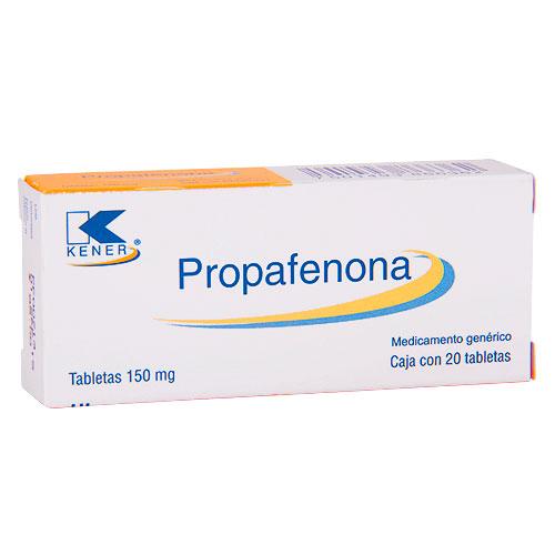 Comprar Propafenona 20 Tabletas (150 mg)