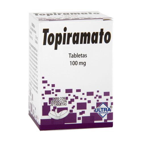 Comprar Topiramato 20 Tabletas (100 Mg)