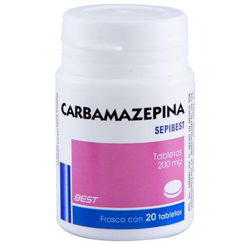 Comprar Carbamazepina 20 Tabletas (200 Mg)