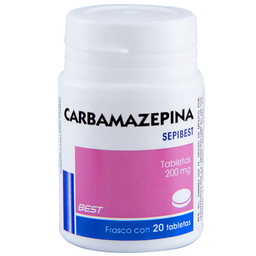 Carbamazepina 20 Tabletas (200 Mg)