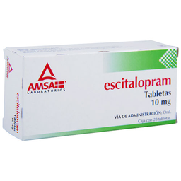 3x2 Escitalopram 10Mg 28Tab