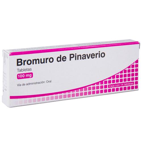 Comprar Bromuro Pinaverio 100Mg 14Tab