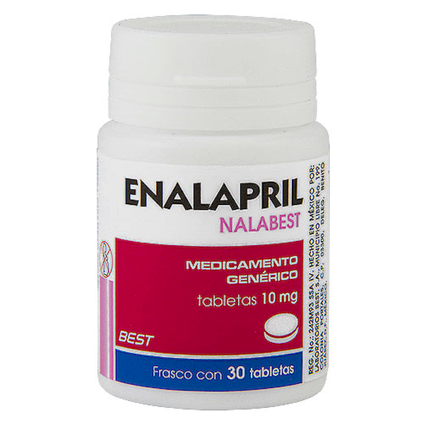 Comprar Enalapril 10Mg 30Tab