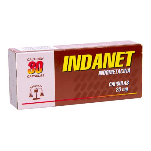 Comprar Indometacina 25Mg 30Cap