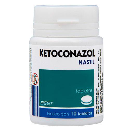 Comprar Ketoconazol 200Mg 10Tab