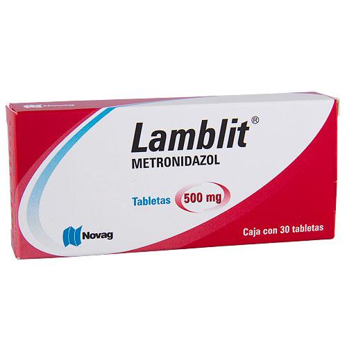 Comprar Metronidazol 500Mg 30Tab